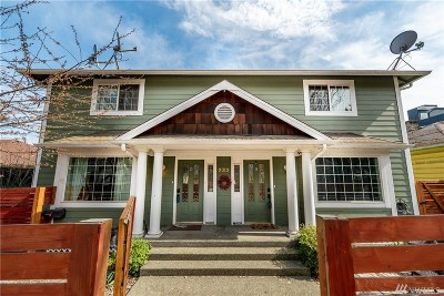 Seattle Single Family Home For Sale: 2012 15th Ave S #A & B