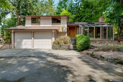 Port Orchard Single Family Home For Sale: 8475 E Caraway Rd