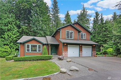 Snohomish Single Family Home For Sale: 8931 188th Dr SE