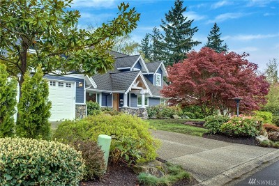 Mercer Island WA Single Family Home For Sale: $2,195,000