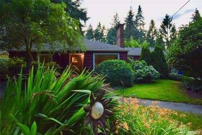 Seattle Single Family Home For Sale: 13339 11th Ave NE