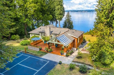 Single Family Home For Sale: 4903 Saratoga Rd