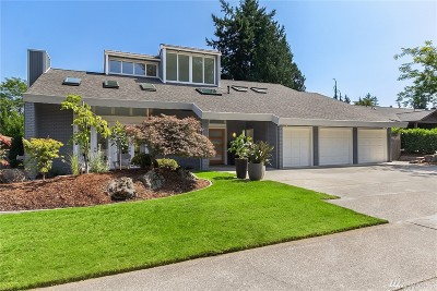 Bellevue Single Family Home For Sale: 1814 184th Ave NE
