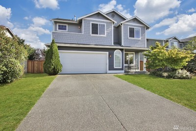 Yelm Single Family Home Pending Inspection: 15205 Carter Lp SE