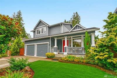 Bothell Single Family Home For Sale: 3001 188th Place SE