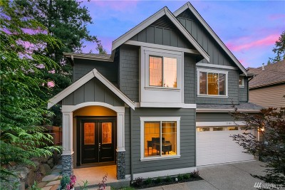 Sammamish Single Family Home For Sale: 22404 SE 20th St