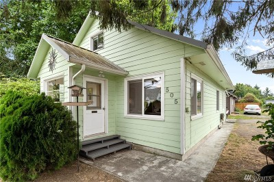 Sedro Woolley Single Family Home Pending Inspection: 505 Waldron St