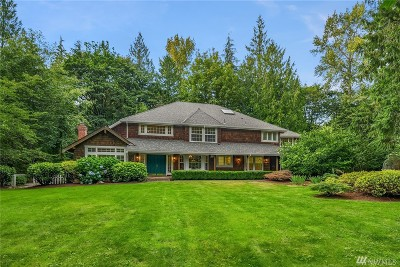 Woodinville Single Family Home For Sale: 22424 NE 200th St