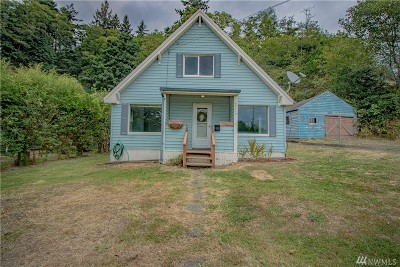 Grays Harbor County Single Family Home For Sale: 2117 Cherry St