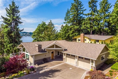 Olympia WA Single Family Home Pending Inspection: $779,000