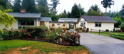 Thurston County, Mason County, Pierce County, King County Single Family Home For Sale: 15414 82nd Ave NW