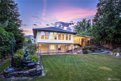 Wenatchee Single Family Home For Sale: 217 N Western Ave