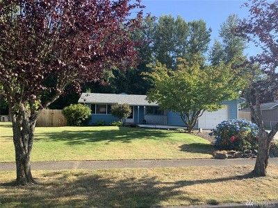 Buckley Single Family Home For Sale: 525 Mountain View Ave
