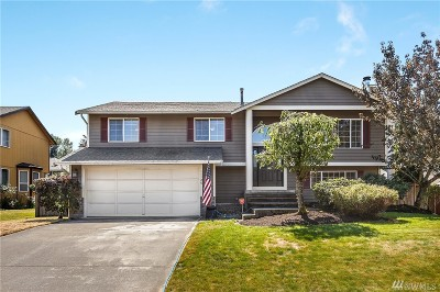Puyallup Single Family Home For Sale: 11120 172nd St E