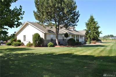 Moses Lake Single Family Home For Sale: 10905 Road 7 NE