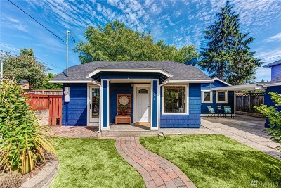 Seattle Single Family Home For Sale: 7706 18th Ave NW