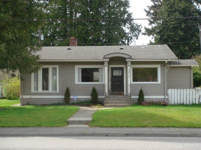 Bellingham Single Family Home For Sale: 3011 Meridian St