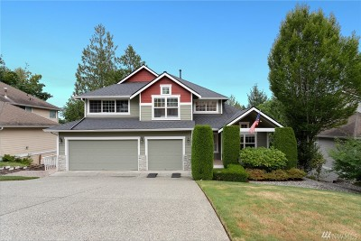 Redmond Single Family Home For Sale: 10214 186th Ct NE