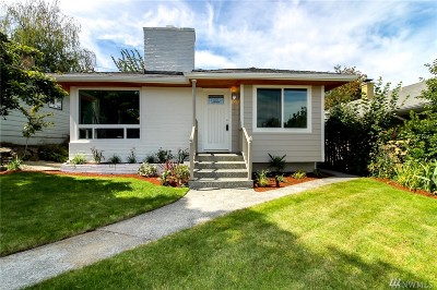 Seattle Single Family Home For Sale: 9251 34th Ave SW