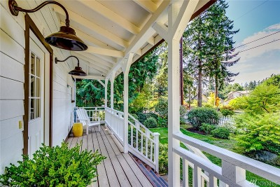 Bainbridge Island Single Family Home For Sale: 10646 Manitou Beach Dr NE