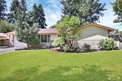Puyallup Single Family Home For Sale: 12004 153rd St E