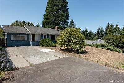 Burien Single Family Home For Sale: 16605 19th Ave SW