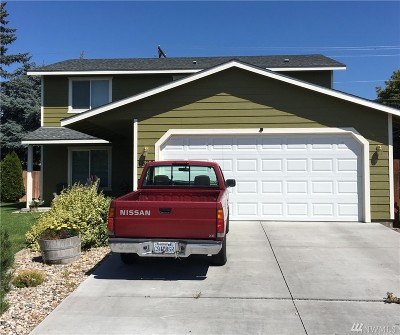 Moses Lake Single Family Home For Sale: 1625 S Skyline Dr