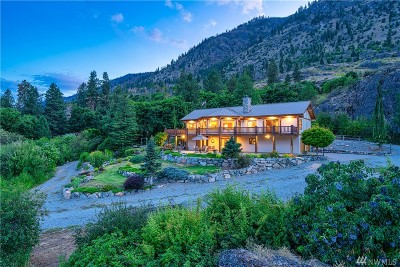 Chelan County Single Family Home For Sale: 16005 S Lakeshore Rd