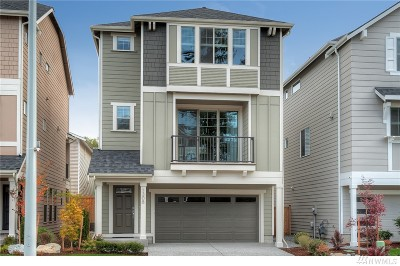 Lynnwood Condo/Townhouse For Sale: 1308 141st Place SW #4
