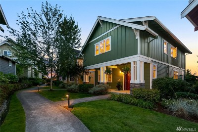 Issaquah Single Family Home For Sale: 1733 27th Lane NE
