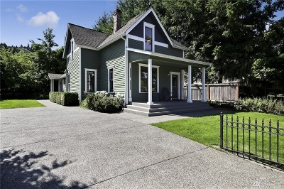 Bothell Single Family Home For Sale: 10329 E Riverside Dr