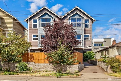 Seattle Single Family Home For Sale: 516 N 46th St #A