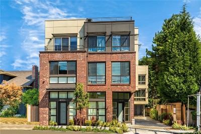 Seattle Single Family Home For Sale: 6312 32nd Ave NW #C