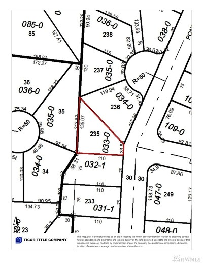 Pierce County Residential Lots & Land For Sale: 10432 202nd Ave E