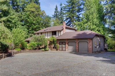 Bothell WA Single Family Home For Sale: $850,000