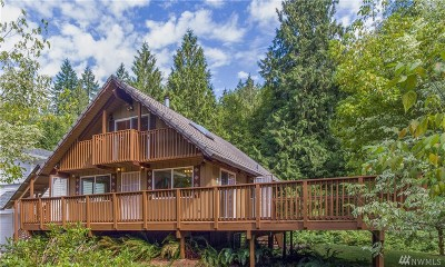 Snohomish Single Family Home For Sale: 2811 Middle Shore Rd