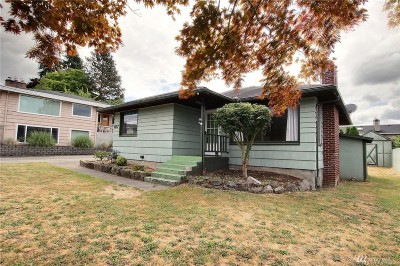Renton Single Family Home For Sale: 1117 N 34th St