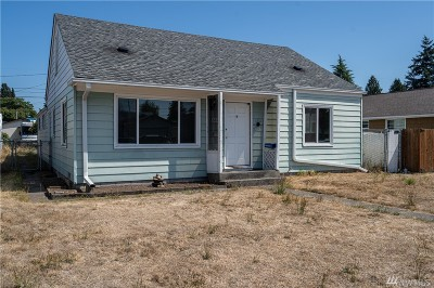 Tacoma Single Family Home For Sale: 6807 S Lawrence St