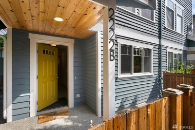 Seattle Single Family Home For Sale: 2222 NW 59th St #B