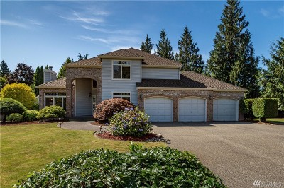 Puyallup Single Family Home For Sale: 12706 114th St Ct E