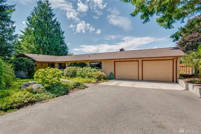 Bainbridge Island Single Family Home Pending: 12101 Pleasant Place NE