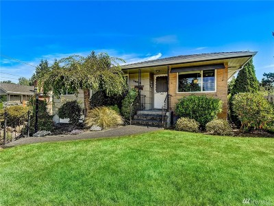 Burien Single Family Home For Sale: 16616 3rd Ave S