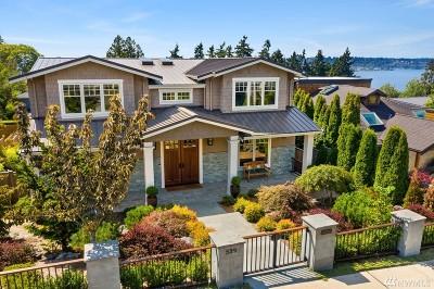 Kirkland WA Single Family Home For Sale: $3,198,000