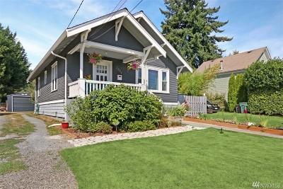 Everett Single Family Home For Sale: 3912 High St