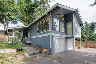 Kirkland Single Family Home For Sale: 9600 116th Ave NE