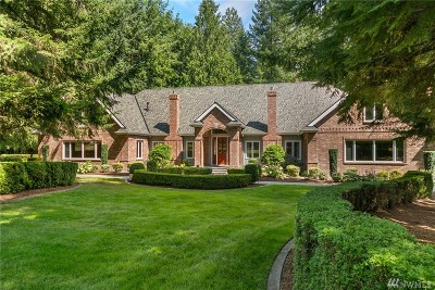 Woodinville Single Family Home For Sale: 19410 222nd Ave NE