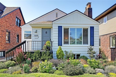 Seattle Single Family Home For Sale: 1615 45th Ave SW