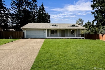 Thurston County Single Family Home For Sale: 16202 83rd Ct SE