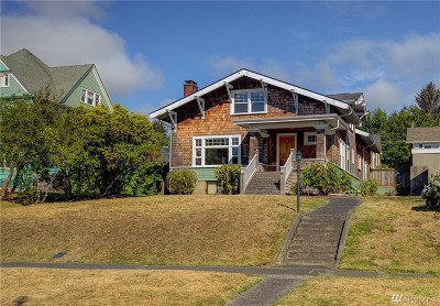 Grays Harbor County Single Family Home For Sale: 114 W 6th St