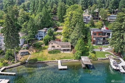 Mercer Island Single Family Home For Sale: 6838 96th Ave SE
